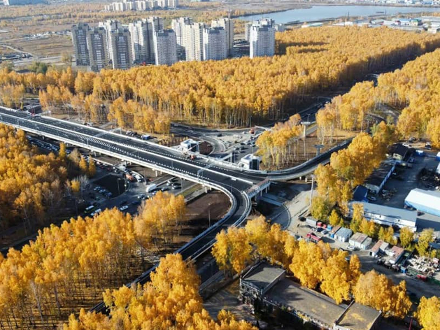 Движение по новой развязке на Мельникайте — Дружбы откроют 17 октября